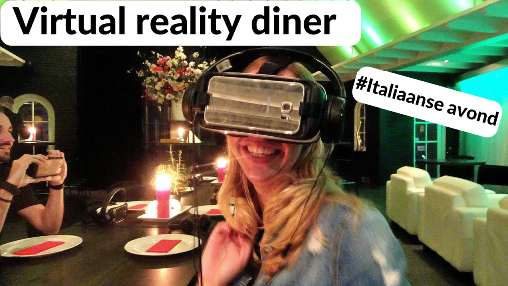 virtual reality diner