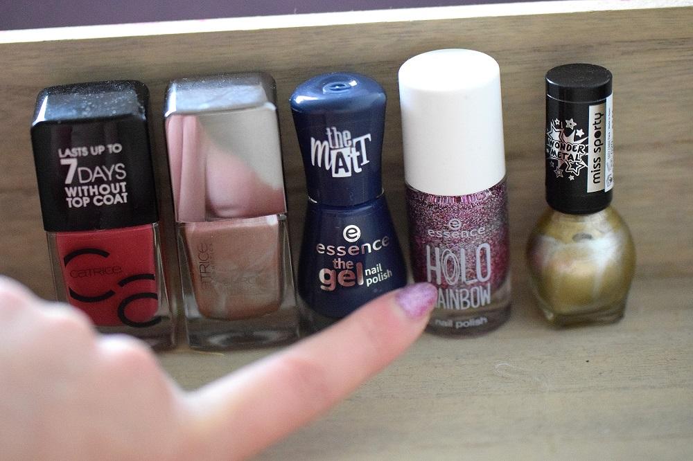 nieuwe nagellakjes