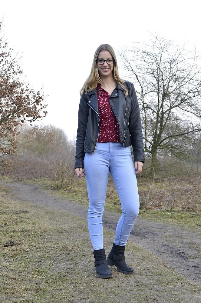 Things Met Zie Blouse Girls Jasje Leren Ik Outfit Sterretjes OZ8qP1w