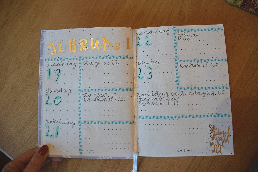 Bullet Journal review