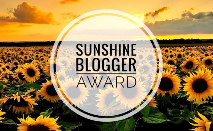 De sunshine blogger award