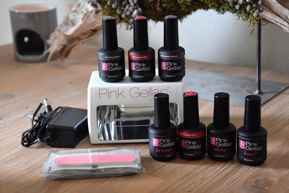 Pink Gellac testen