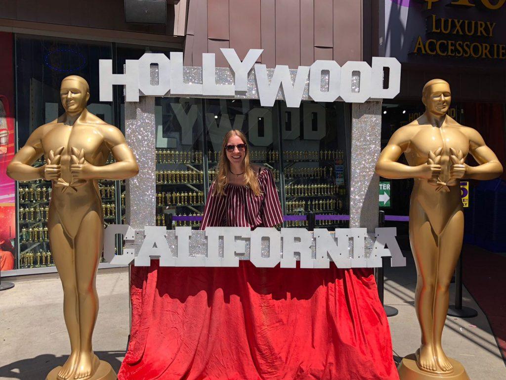 mijn vakantie in Los Angeles