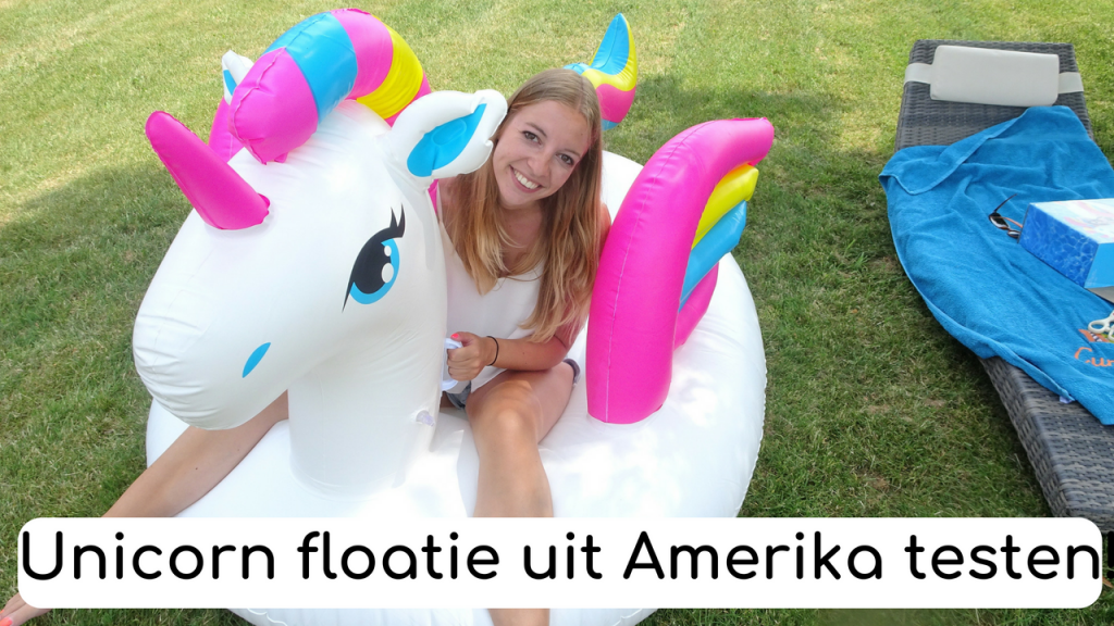 unicorn floatie testen