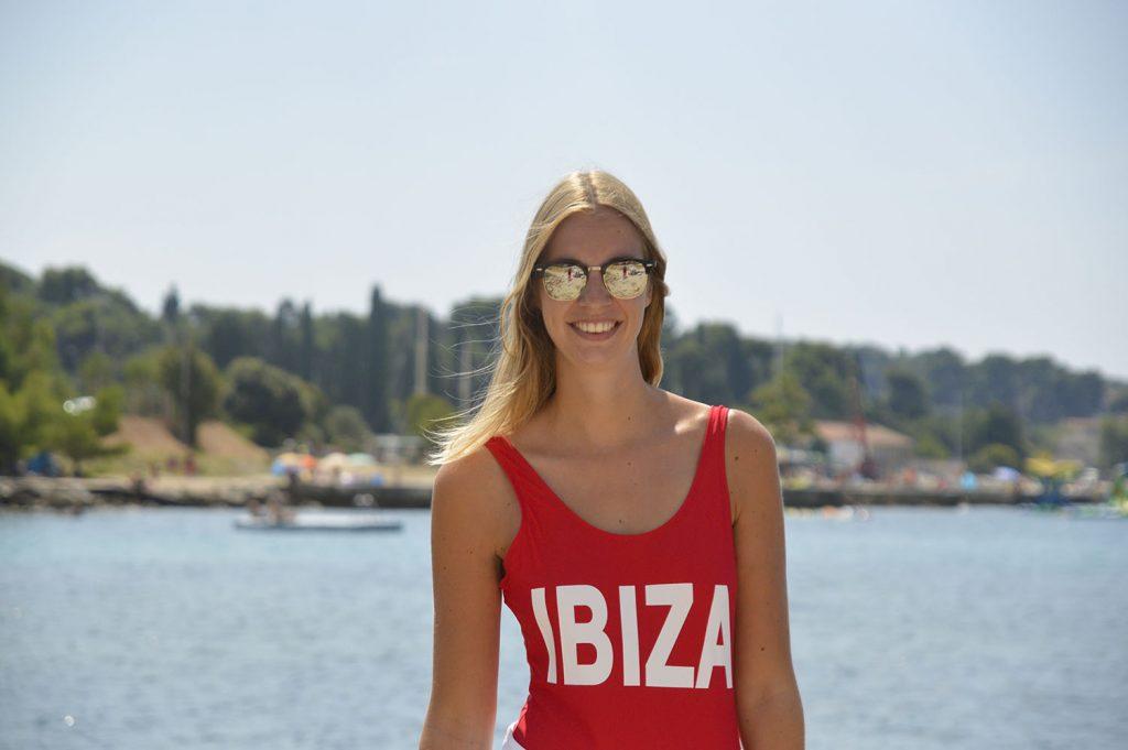 Ibiza badpak outfit