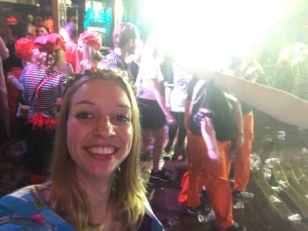 eerste keer carnaval vieren