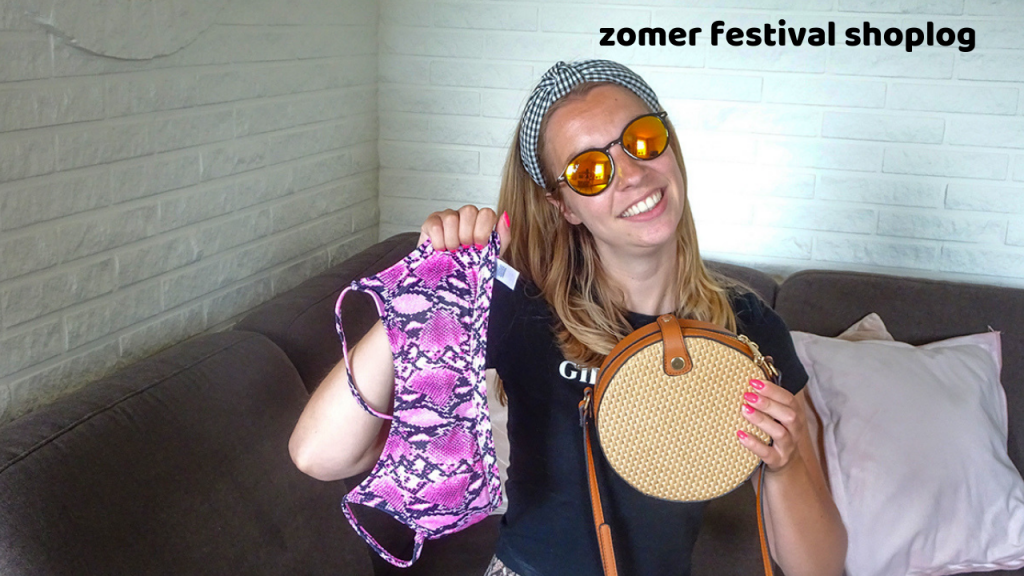 zomer festival shoplog