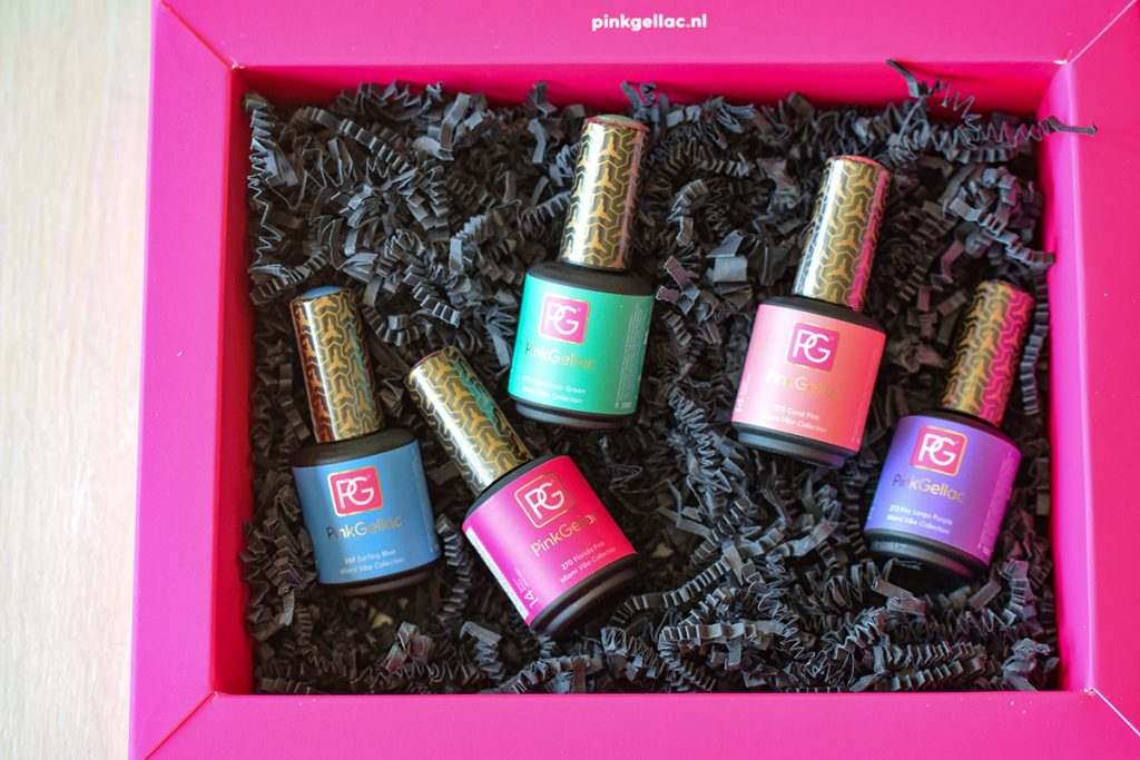 Pink Gellac Miami Vibe Collection