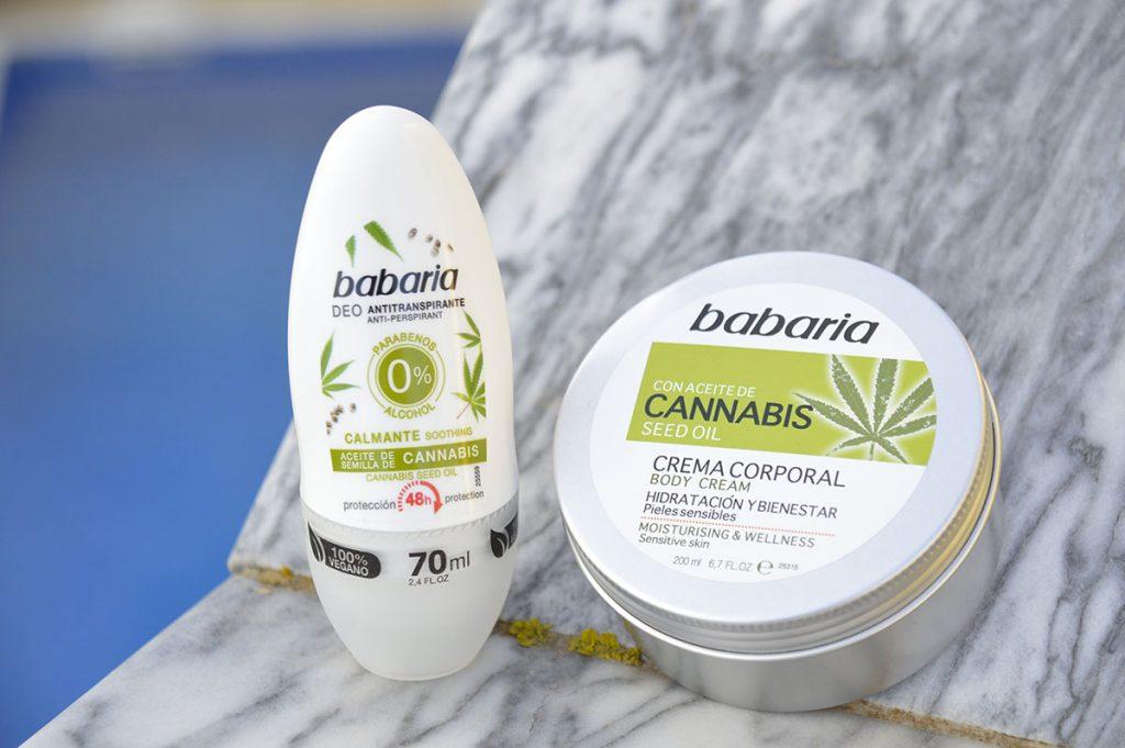 deodorant en bodylotion met cannabis