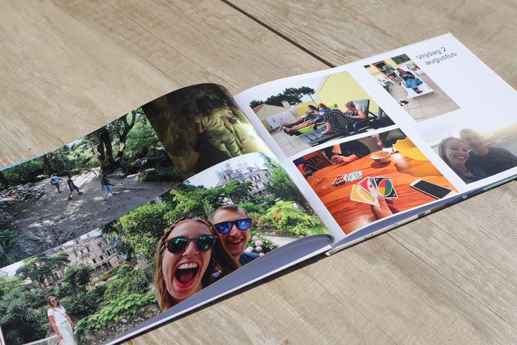 vakantie fotoboek