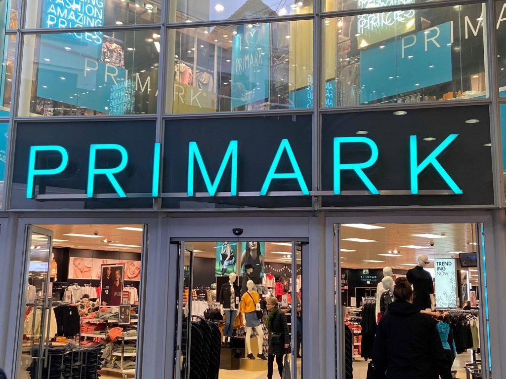winkelen met vriendinnen in de Primark