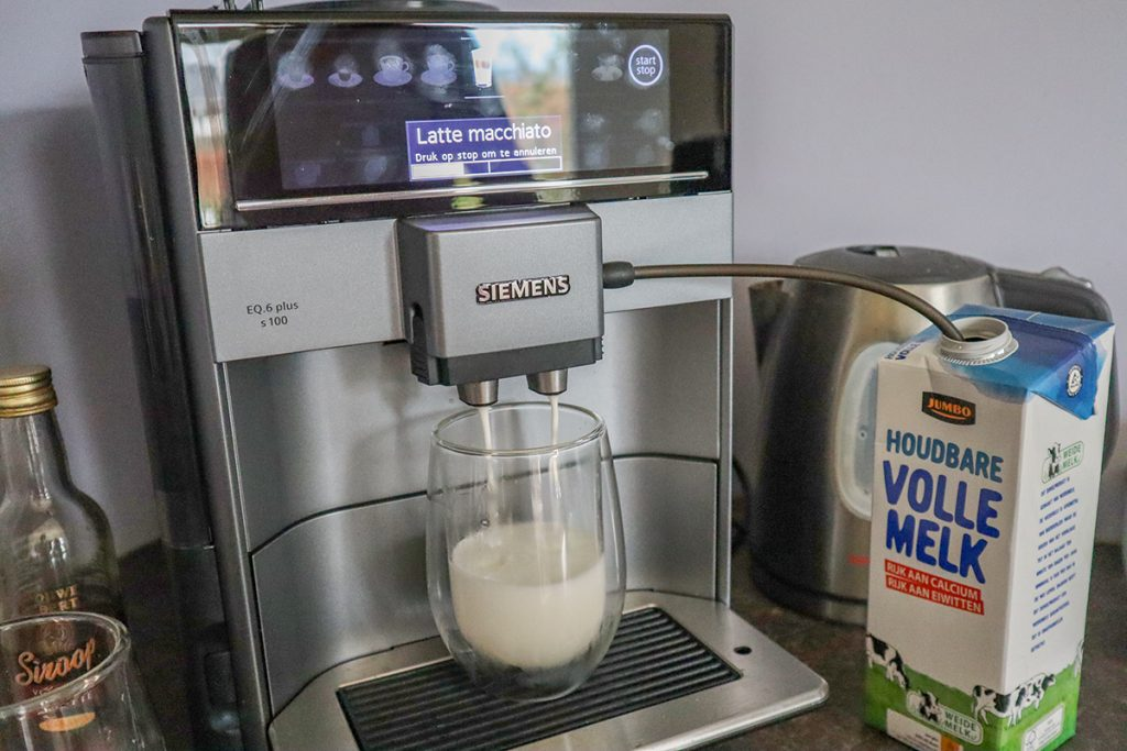 Latte macchiato en cappuccino maken thuis
