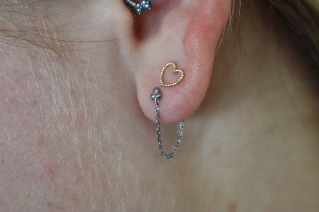 oorbellen van Isabel Bernard