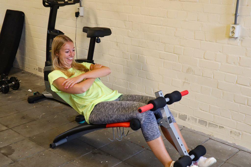 eigen fitness ruimte
