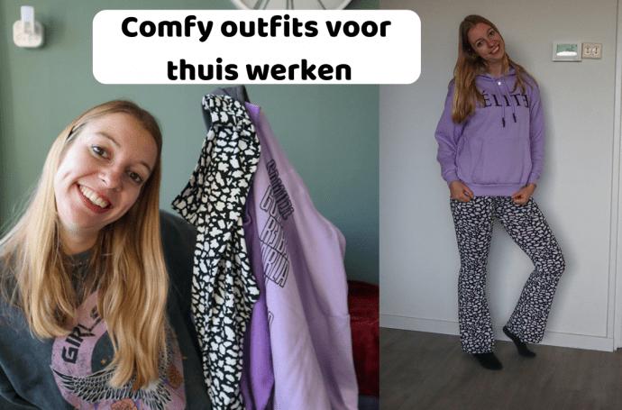 comfy outfits voor thuis werken