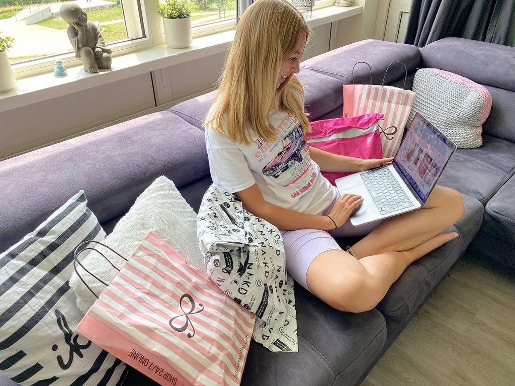online shoppen versus fysiek shoppen
