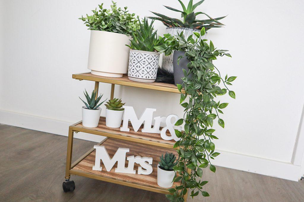kunstplanten in huis